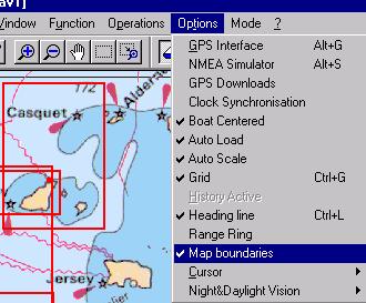 ScanNav Version 4 0 - Navigation mode