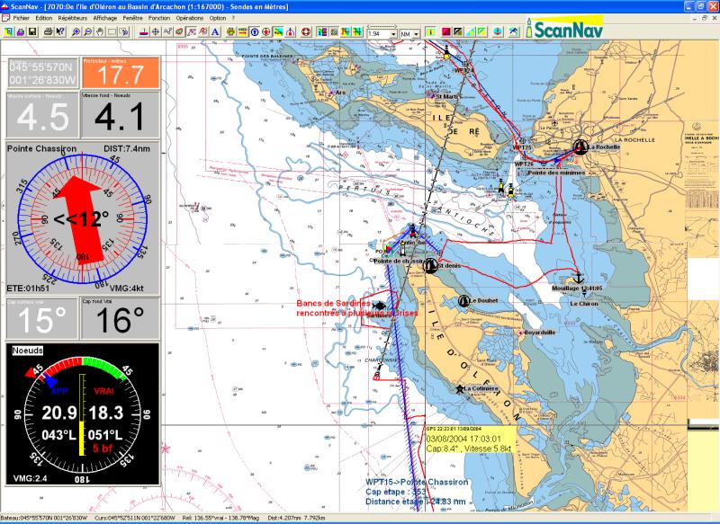 carte marine gratuite pour pc ScanNav   Logiciel de cartographie et de navigation assisté par GPS